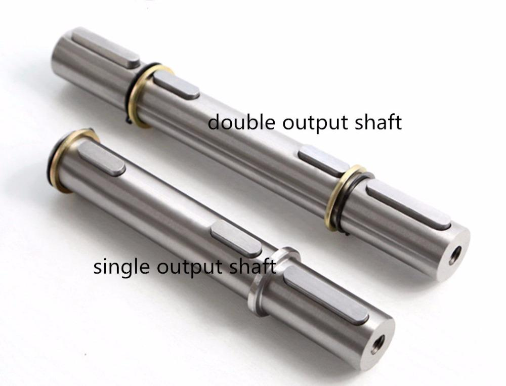 Диаметр вала 14mm выхода редуктора шестерни глиста NMRV030