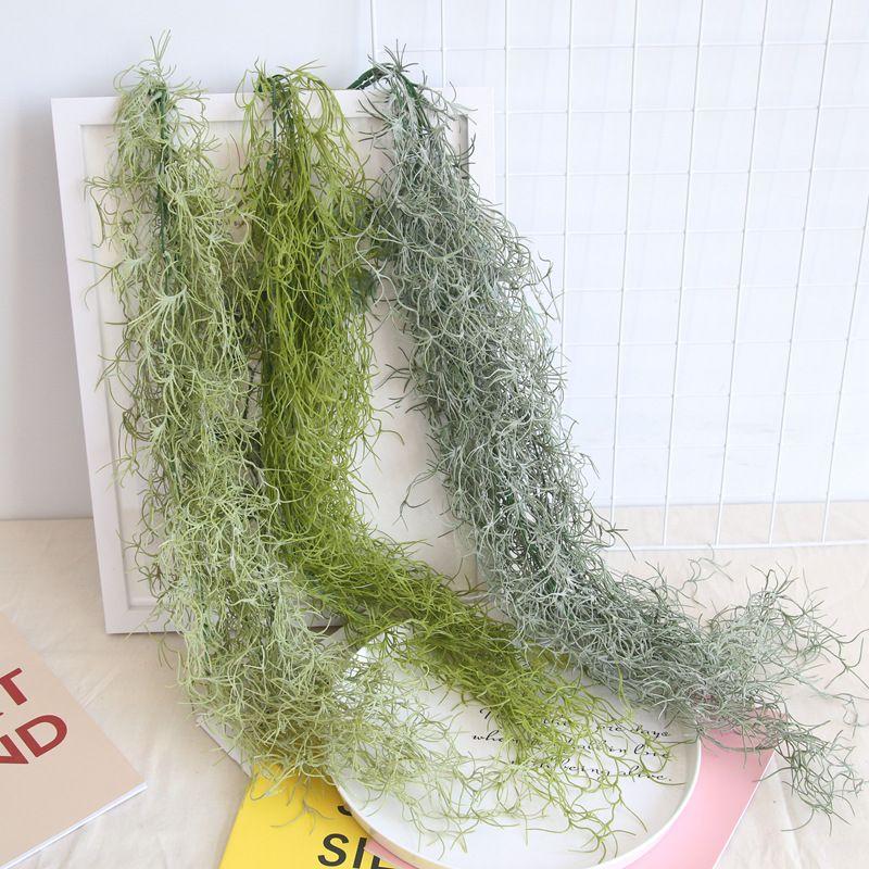 91 سنتيمتر الهواء نبات العشب أوراق معلقة الجدار الخضرة لحديقة البلاستيك كرمة الاصطناعي 3 قطعة / الوحدة شنقا فاينز العصارة