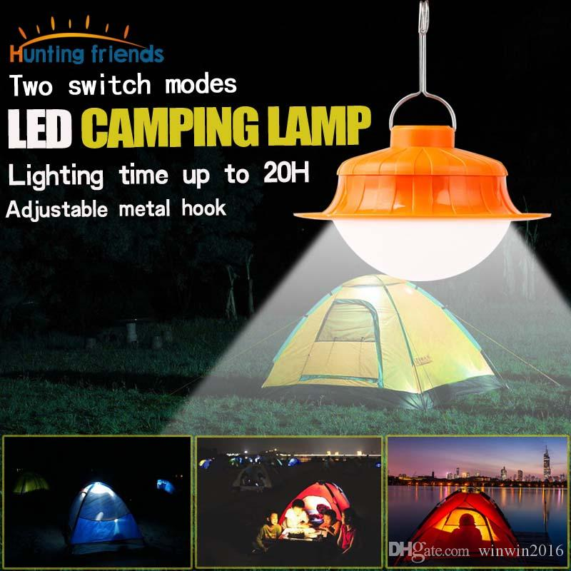 Ultra helle 17 LED Camping Laterne 2 Licht Modi wiederaufladbare tragbare LED Zelt Licht für Indoor Outdoor Sports