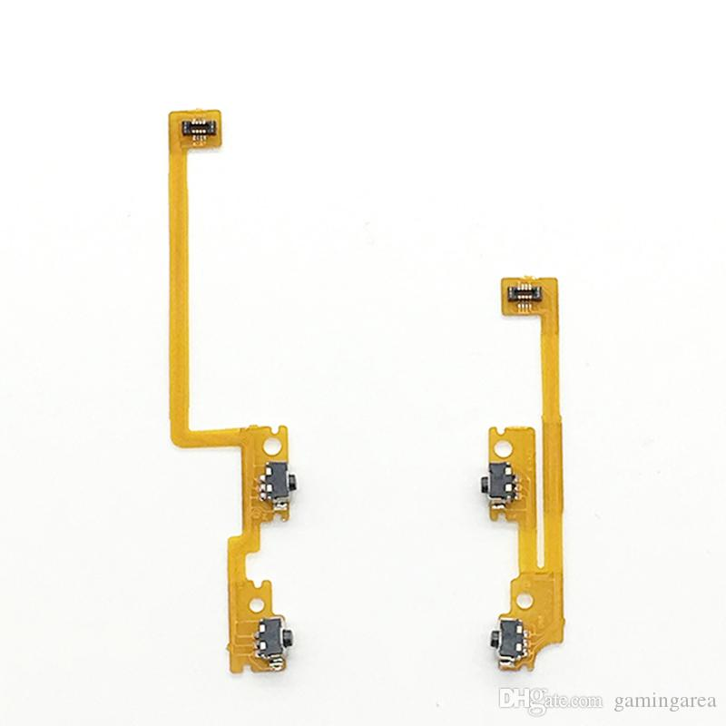 Original Shoulder Trigger Button Left Right L/R ZL / ZR Flex Ribbon Cable for NEW 3DS LL XL Repair L/R Switch Button FREE SHIPPING