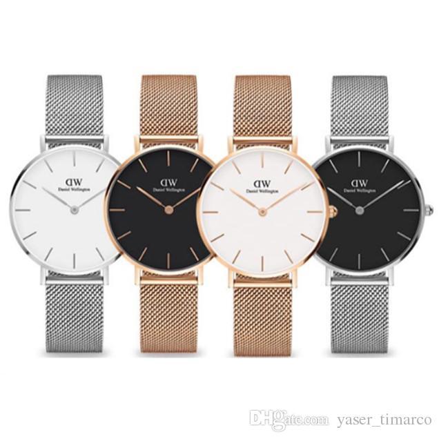 Relojes Del Acero De Nuevo Alta Para Llega Calidad Hora 2018 Pulsera Inoxidable Mujer Marca Damas Reloj Compre Moda Wd D2H9EI