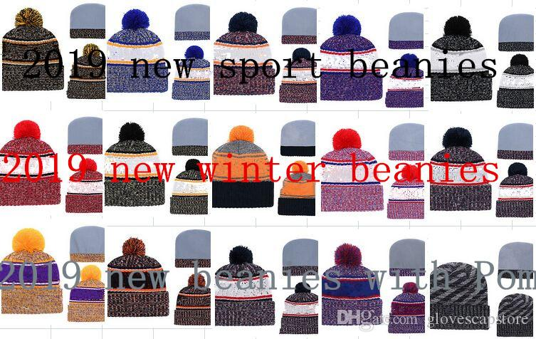 Team beanie baseball beanies Winter Kintted Beanies Hats Baseball Caps Hats Cap Beanies Knitted Beanie Wool Hat Man Knit Bonnet Beanie