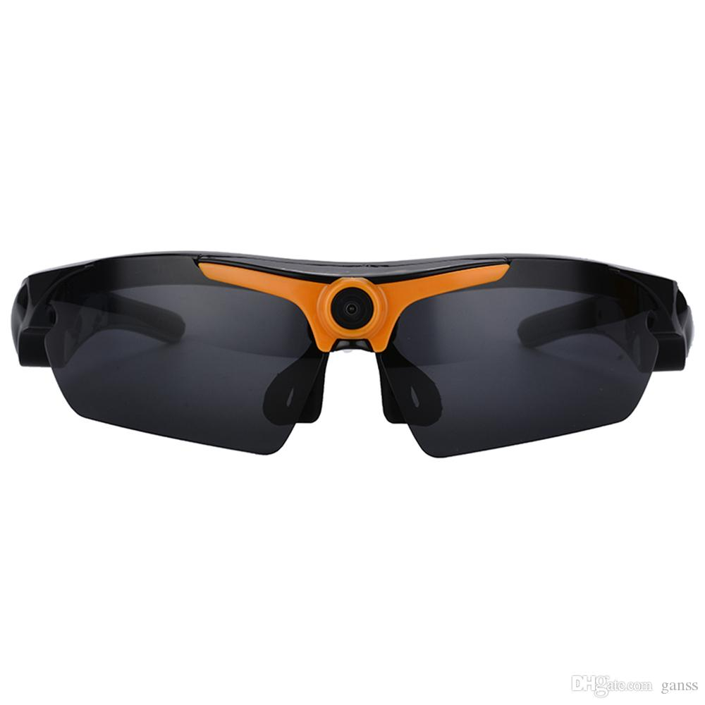 Sunglasses Mini Camera Video Recorder Polarized Glasses HD 1080P Wearable Sports Action Camcorder with Remote Control