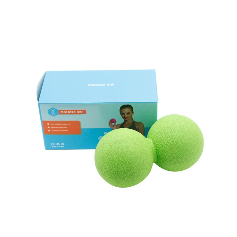 Fitness balance yoga ball Fitness gym ball Double Yoga Gym Relaxation Exercise Relax Muscle Body Training im