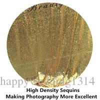 ShinyBeauty Sequin Carpet-25FTx4FT-Gold Runner, Sequin Aisle Runner for Party,Sequin Aisles Floor Runner, Wedding Ceremony Decor