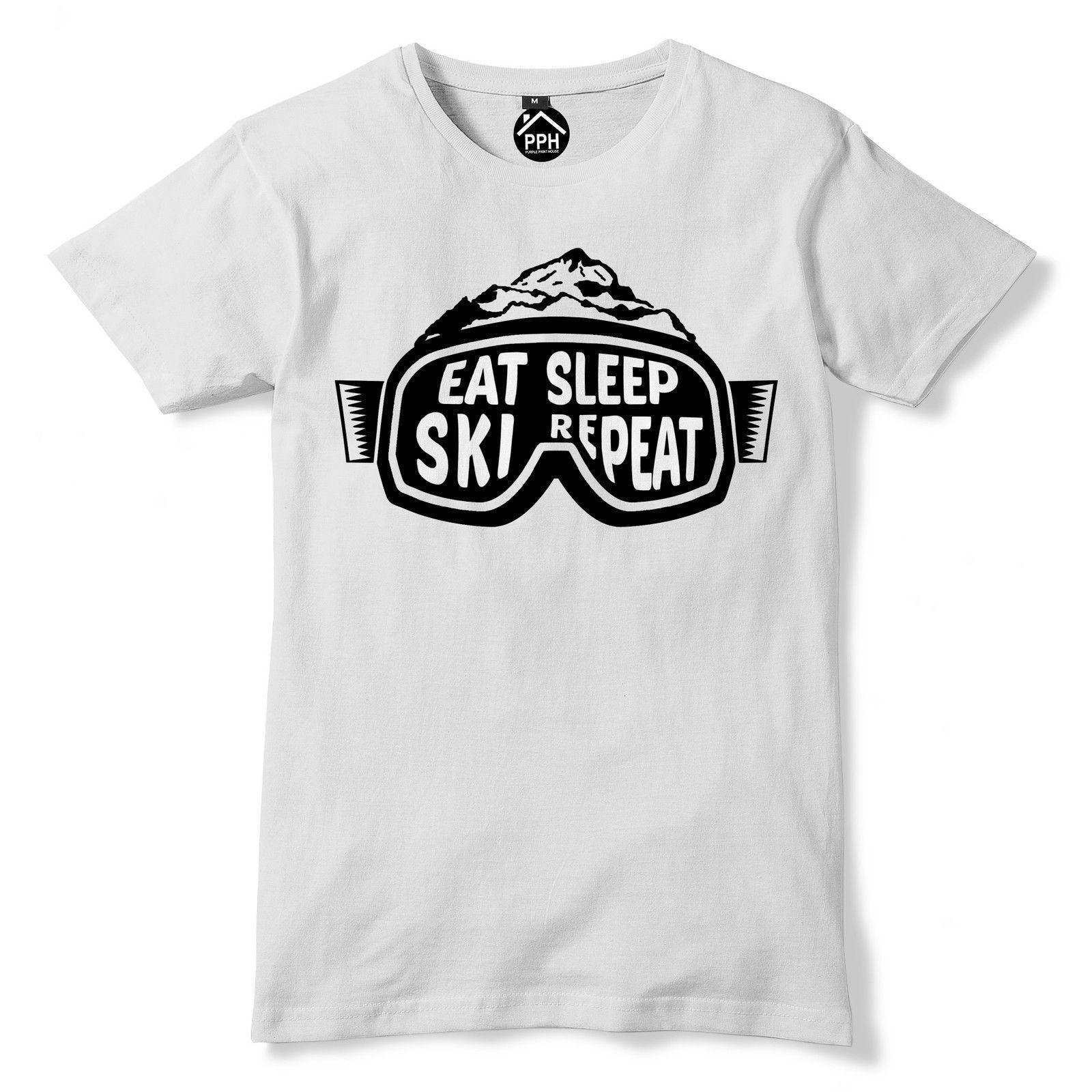 Sci Snowboard Per Bambini T-Shirt Divertente TEE T-Shirt-Sci Snowboard Gogg