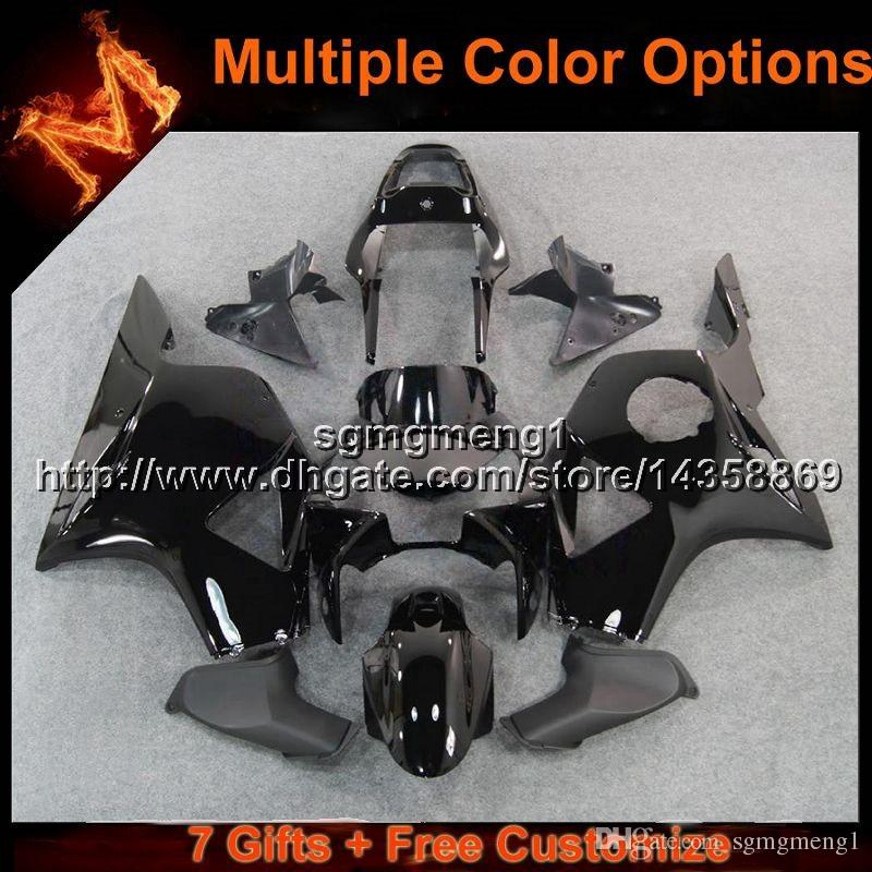 23colors+8Gifts glossy black motorcycle cowl for HONDA CBR954RR 2002 2003 CBR 954 RR 02 03 ABS Plastic Fairing