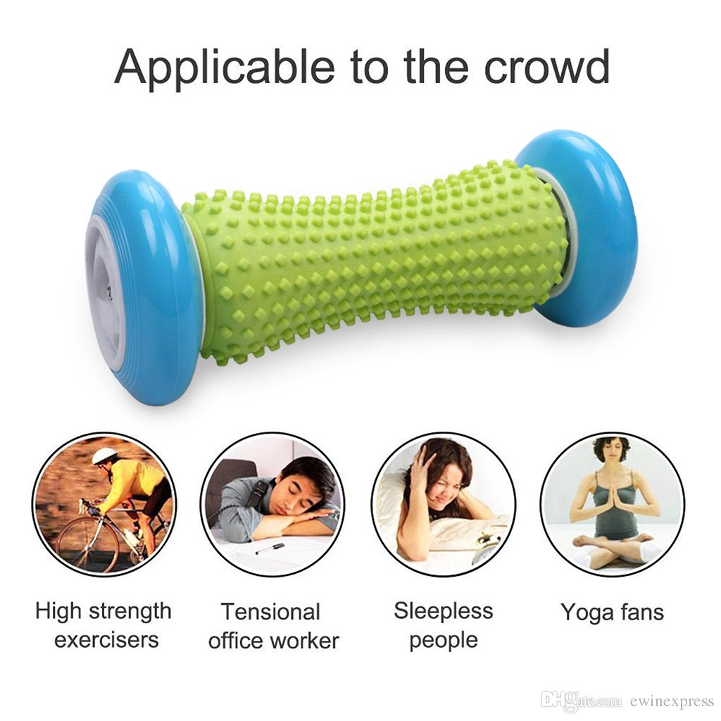 Foot Hand Massage Roller Trigger Point Deep Tissue For Plantar Fasciitis Heel Foot Arch Pain Relief Yoga Fitness