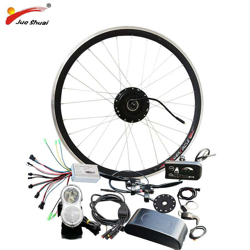 "wholesale Electric Bike Bicycle Conversion Kit for 20"" 26"" 700C Front Wheel Hub Motor 36V 250w Ebike kit bicicleta electrica"