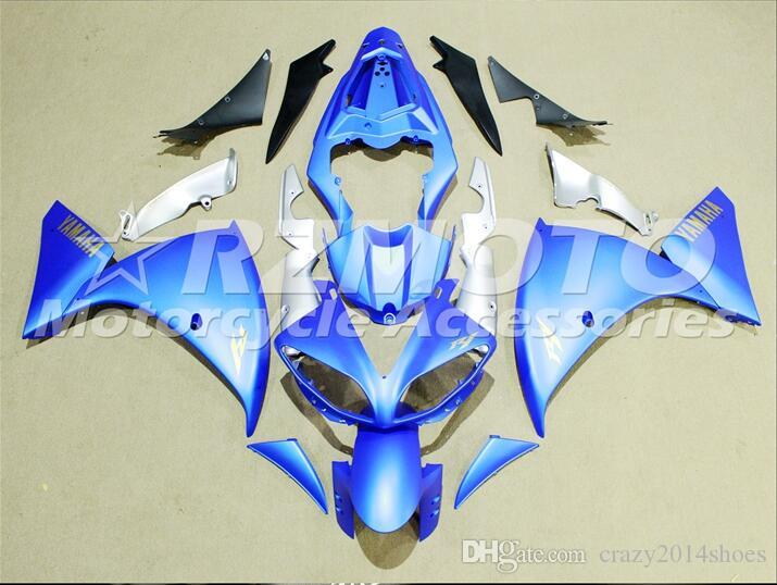 3 Free Gifts New motorcycle Fairings Kits For YAMAHA YZF-R1 2009-2011-2012 R1 09-11-12 YZF1000 bodywork hot sales loves Blue B48