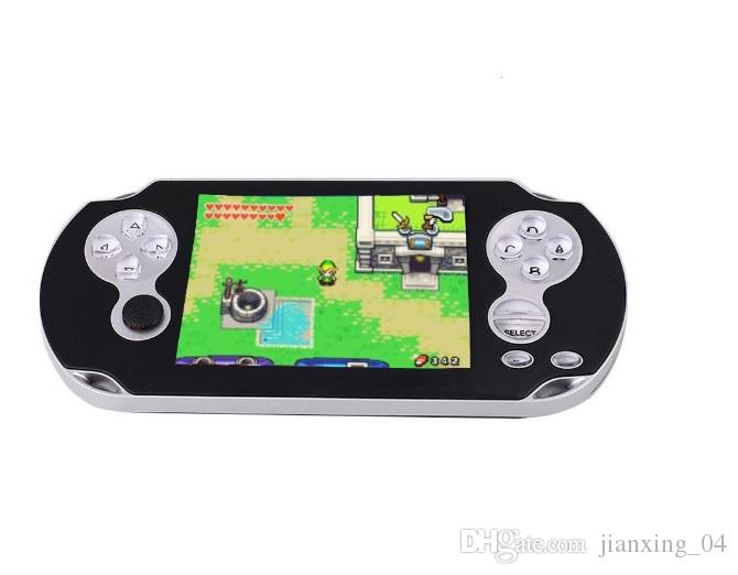 """PMP IV 32Bit MP3, MP4, FM, MP5, Video Game Console Analog Control 3"""" TFT screen game player"""