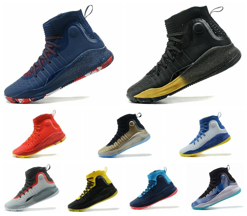 Curry 4 High Top Men Basketball Shoes