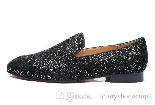 Uomo Slip-on Print Scarpe da sposa Moda Mocassini di alta qualità Street Smoking Shoes Scarpe business personalizzate Eu38-EU46