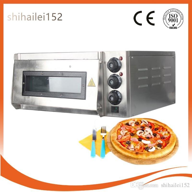 ITOP Pizza Forno 2KW Comercial Elétrica Pizza Forno Único Camada Profissional Elétrica Baking Forno Bolo / Pão / Pizza Com O Tempo