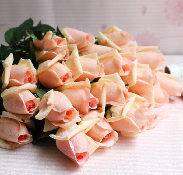 New Design Fresh Rose Artificial Flowers Real Touch Rose Flowers ,Home Decorations For Wedding Party Or Birthday