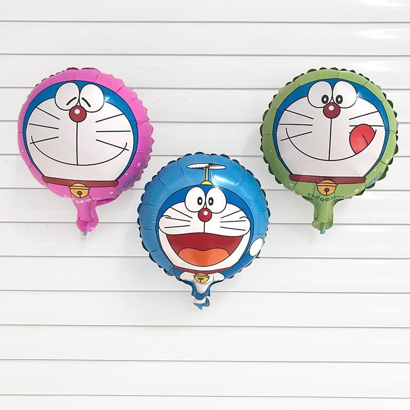 Free shipping 50PC 10-inch round Jingle cat balloon Helium Foil Balloons happy birthday party decorations kids toy Supplies