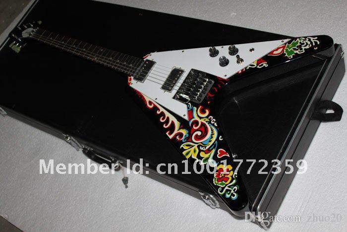 주문 상점 Jimi Hendrix Psychedelic 1967 주문 일렉트릭 기타