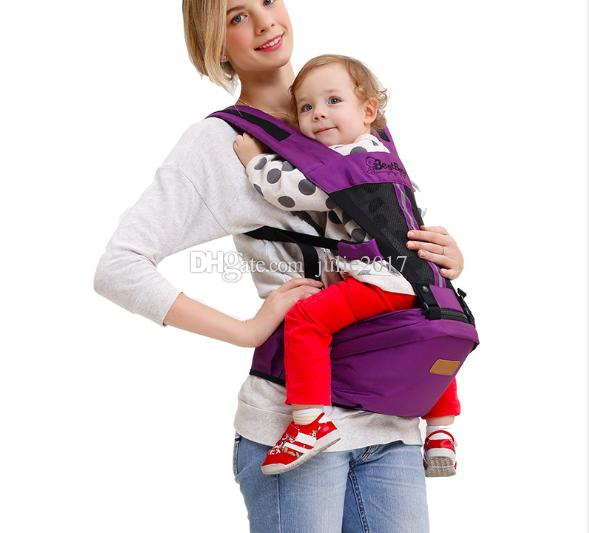 New Arrive Cool Baby Belt Holding Sling Breathable Multifunctional Newborn Infant Carrier Double Shoulder Strap Baby Waist Stool
