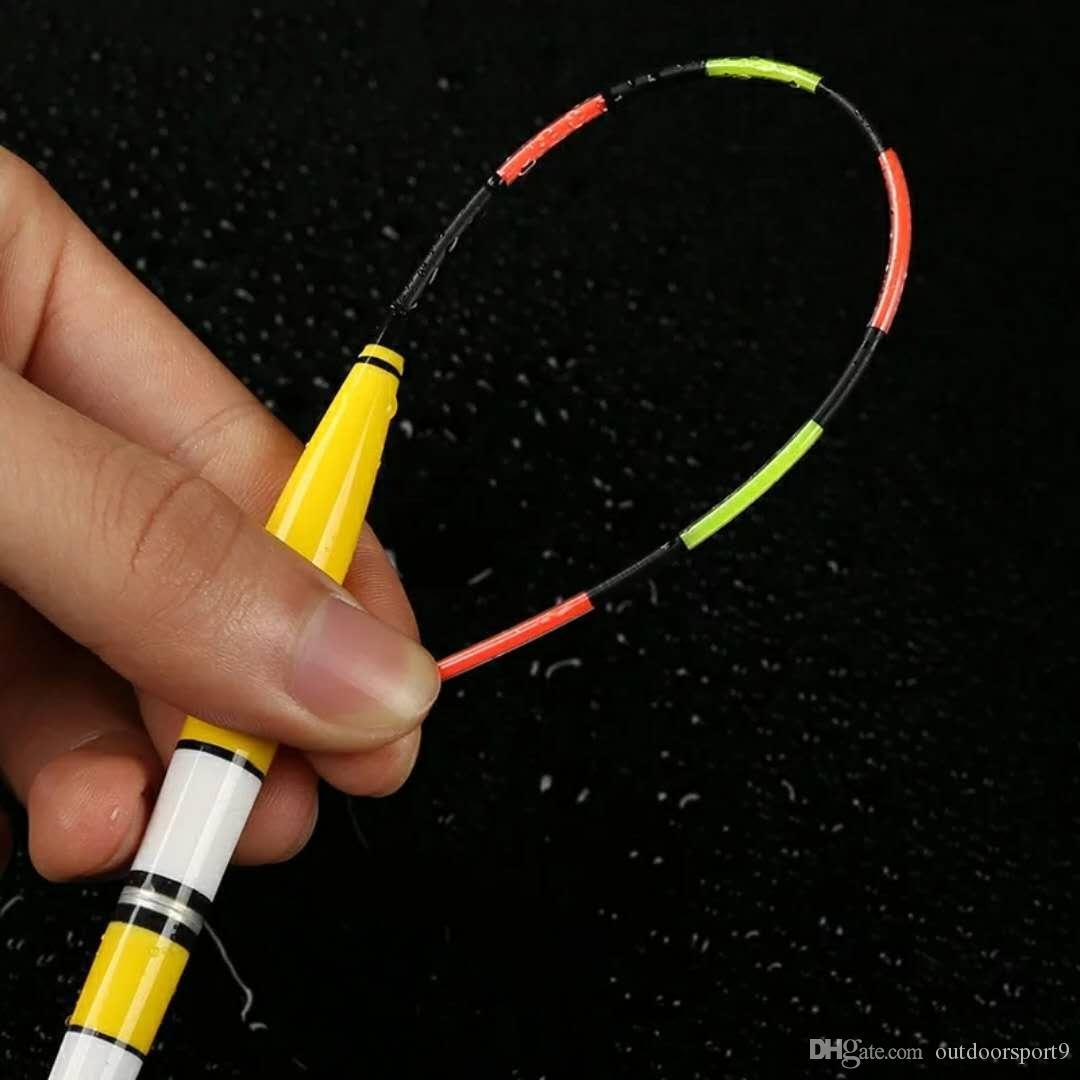 1 PC Elektroniczny Luminous Fishing Float Bobber Supplies Fishing Gear Gear z CR425 Bateria Rozrywka Elektryczny Połowcowy
