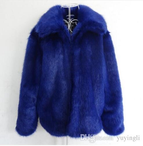 Autumn winter thicken warm faux fur coats mens leather jacket slim raccoon fur jackets men jaqueta de couro plus size S - 5XL