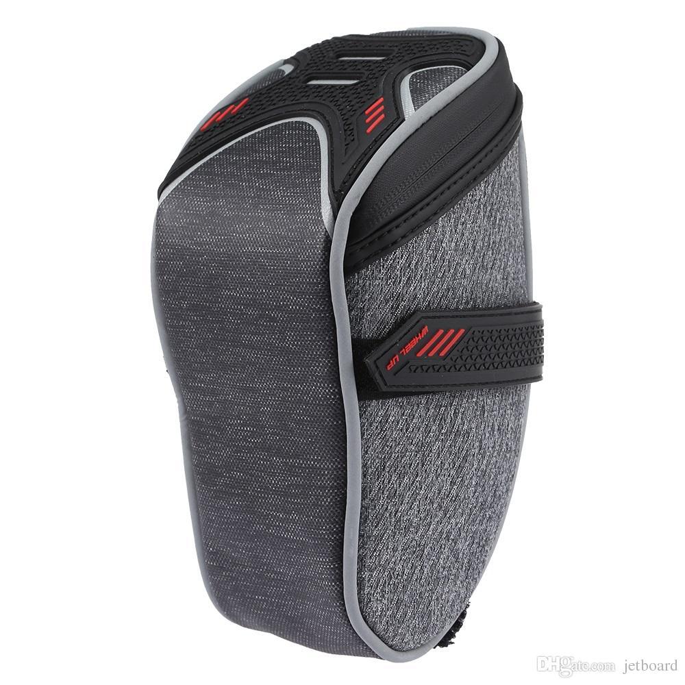 Bolsa de accesorios traseros traseros con ruedas Sillín de asiento Bicicleta Bicicleta Bicicleta Bolsa de ciclismo VEUD