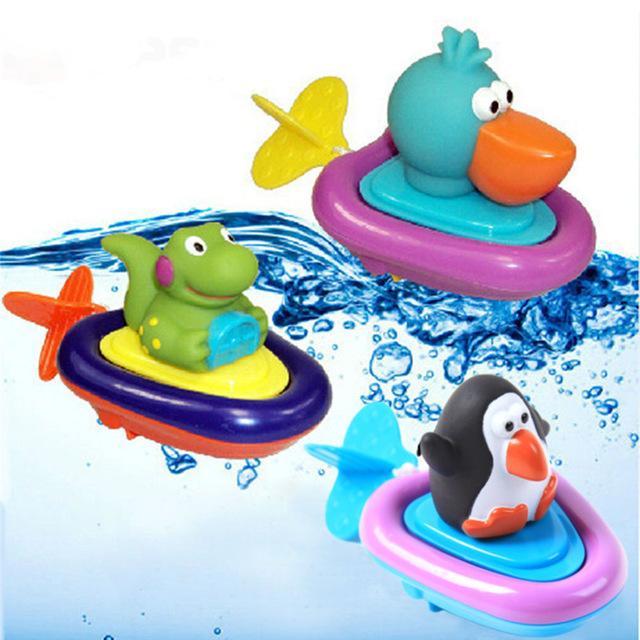 الطفل حمام السباحة لعبة البط / البطريق / التمساح البرتقالة اللعب السباحة لعبة للطفل ألعاب تعليمية الرضع لطيف الحيوان حمام لعبة