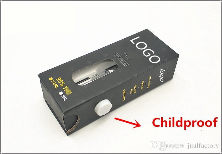 battery box package vape sticker blister package 510 cartridge childproof box case blister package OEM ODM service custom packaging