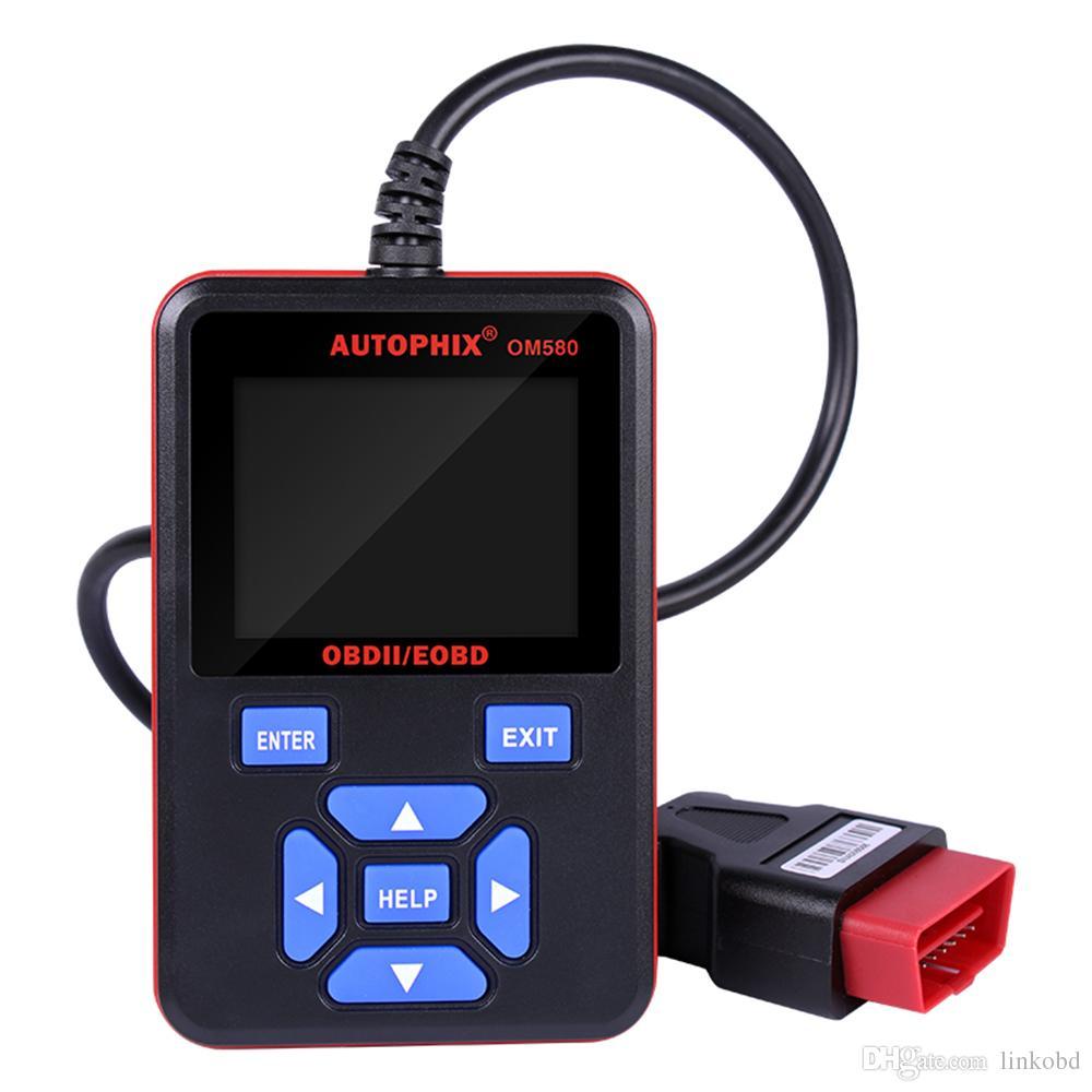 Autophix OBDMATE OM580 Araba OBD OBD2 EOBD Kod Okuyucu Tarama Aracı Otomotiv Teşhis Tarayıcı Desteği Çoklu dil