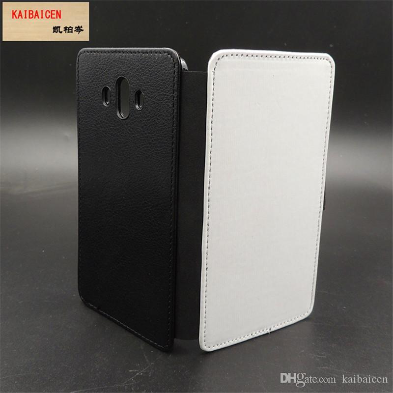 Huawei Mate 10 için / Onur 6X / 7/7 Lite / Onur 5C / 8/8 Lite / P8 Lite 2017 / Sihirli Süblimasyon 2D deri PU cep telefonu kılıfı cep telefonu kapak