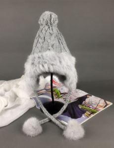Kış şapka şapka MS MAO qiu han baskı çift büküm örme kap earmuffs sıcak kalınlaşma LeiFengChao kap