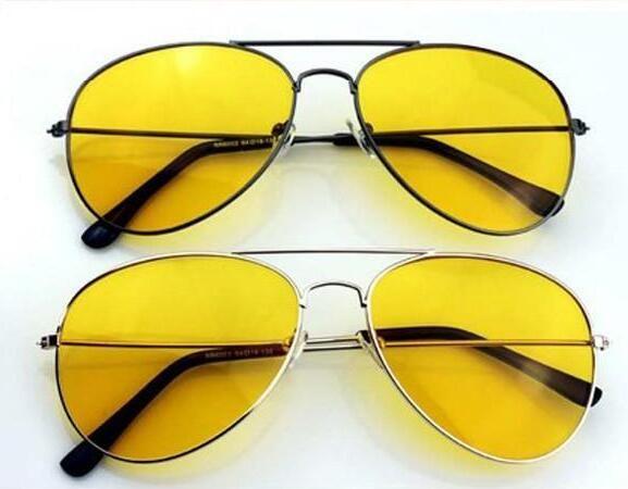 새로운 패션 도매 - 남자를위한 OWNEST 안경 브랜드 HQ 야간 운전 안경 안티 글레어 비전 드라이버 안전 선글라스