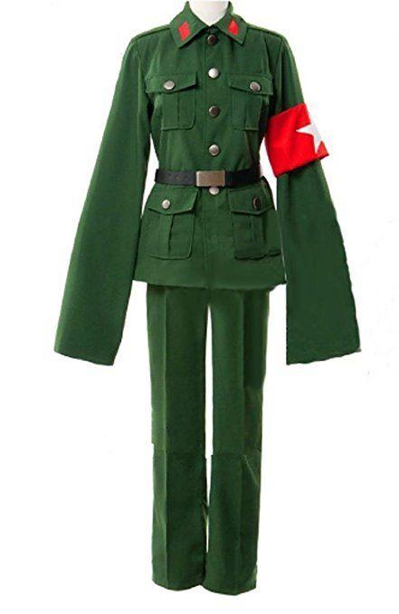 Axis Powers Hetalia China Uniforms Cosplay Costume for Halloween