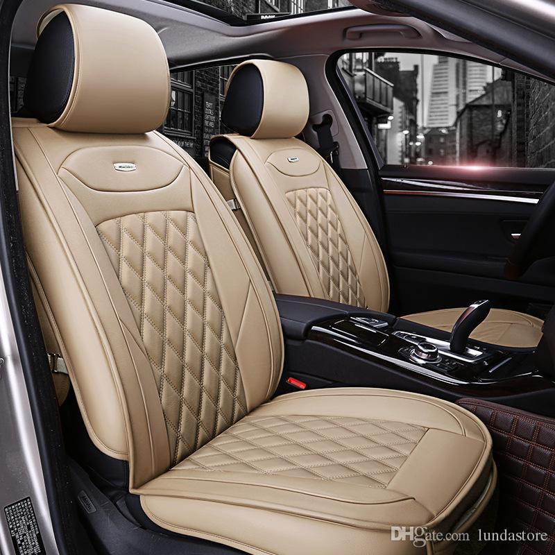 Strange Luxury Pu Leather Car Seat Covers For Nissan Qashqai March Teana Tiida Almera X Trai Accessories Car Styling Seat Covers Canada 2019 From Lundastore Machost Co Dining Chair Design Ideas Machostcouk