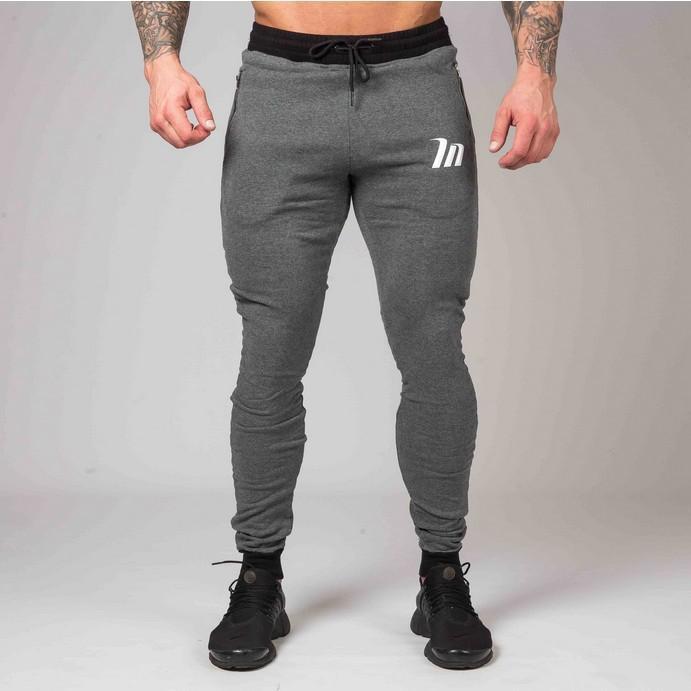 2019 hot Haute Qualité Jogger Pantalon Hommes Fitness Bodybuilding Gymnases Pantalon Pour Les Coureurs Vêtements Automne Sweat Pantalon Britches