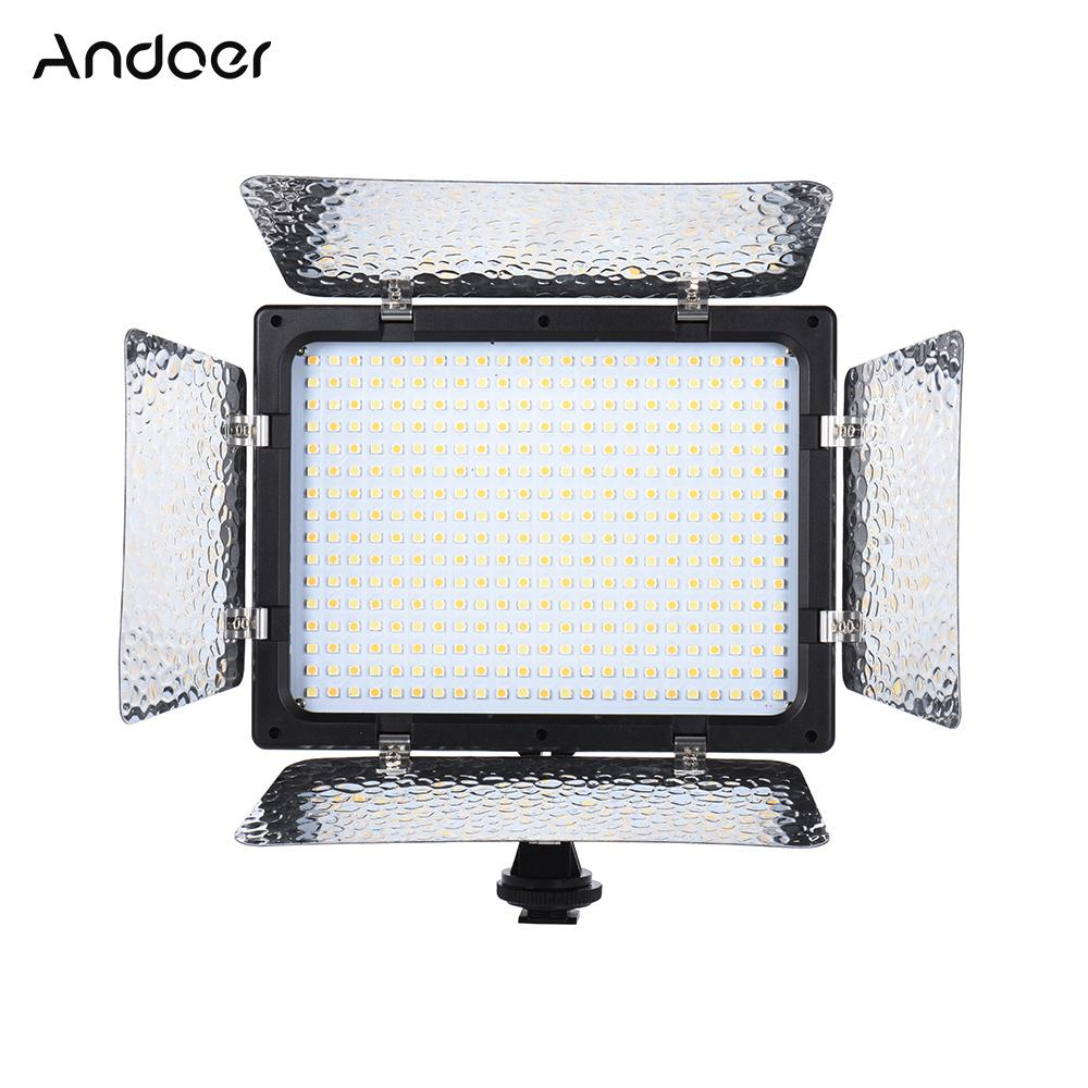 Оптовая W368-II LED видео свет двойной цветовой температуры 3200K-6000K фото освещение Свет панели с камеры крепление и фильтры