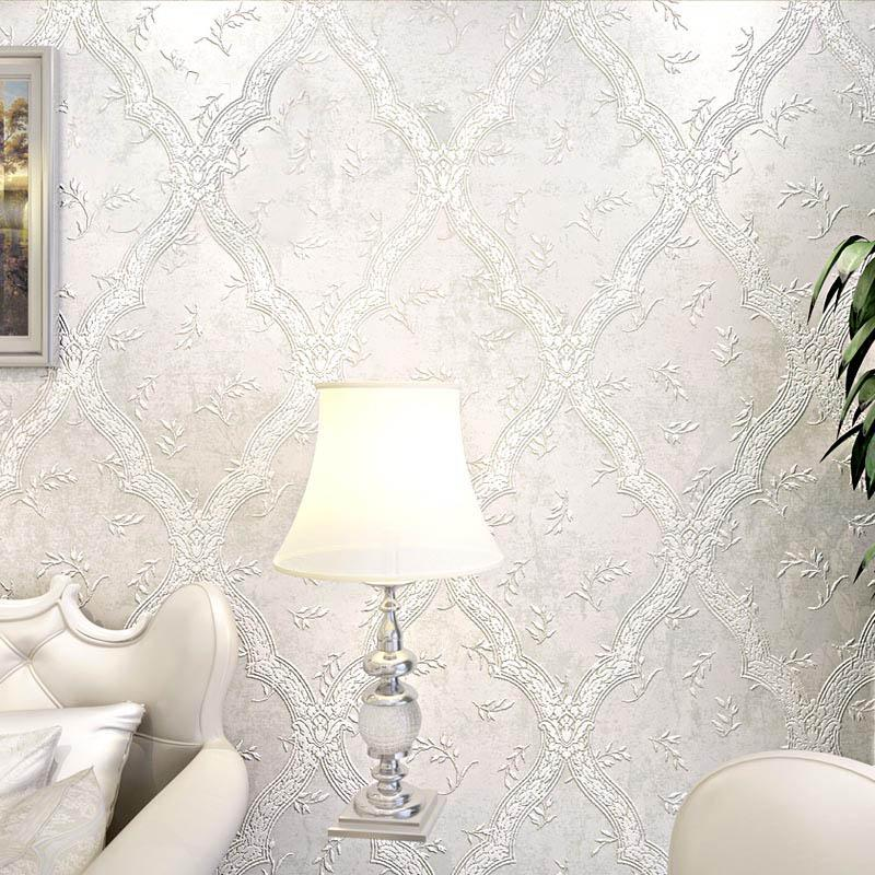 European Style Damask Wallpaper 3d Tv Background Wallpapers For