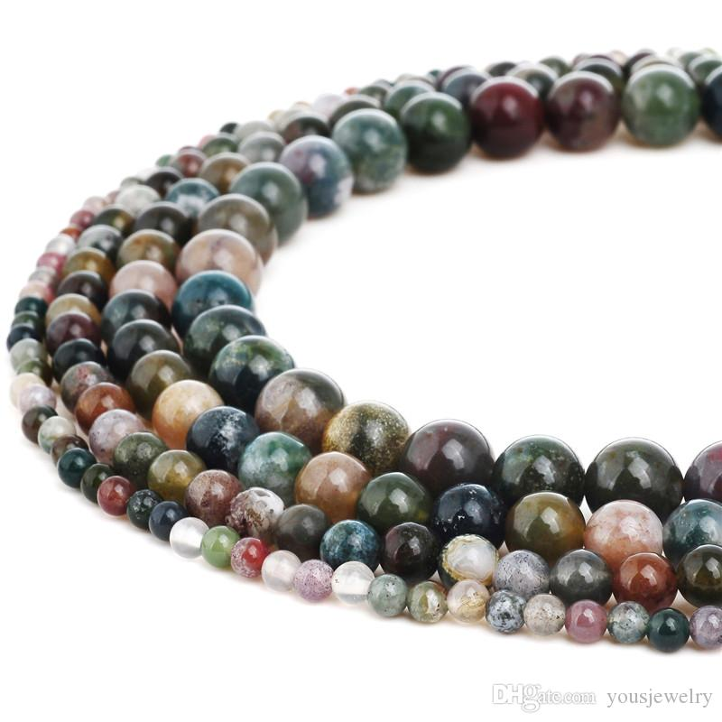 1x Gemstone Stone Quartz Agate Hand Inlaid Ball Bead Pendant For Necklace Charms