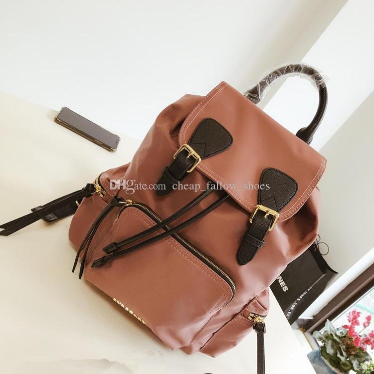 New brand backpack designer backpack handbag high quality two-color stitching backpack school bags outdoor bag free shipping