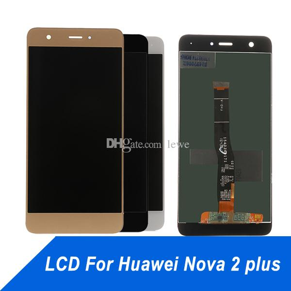 Cell Phone Touch Panel for Huawei Nova plus LCD Display Repair Touch Screen Digitizer Assembly Screen for nova2s nova2 plus 2i free shipping