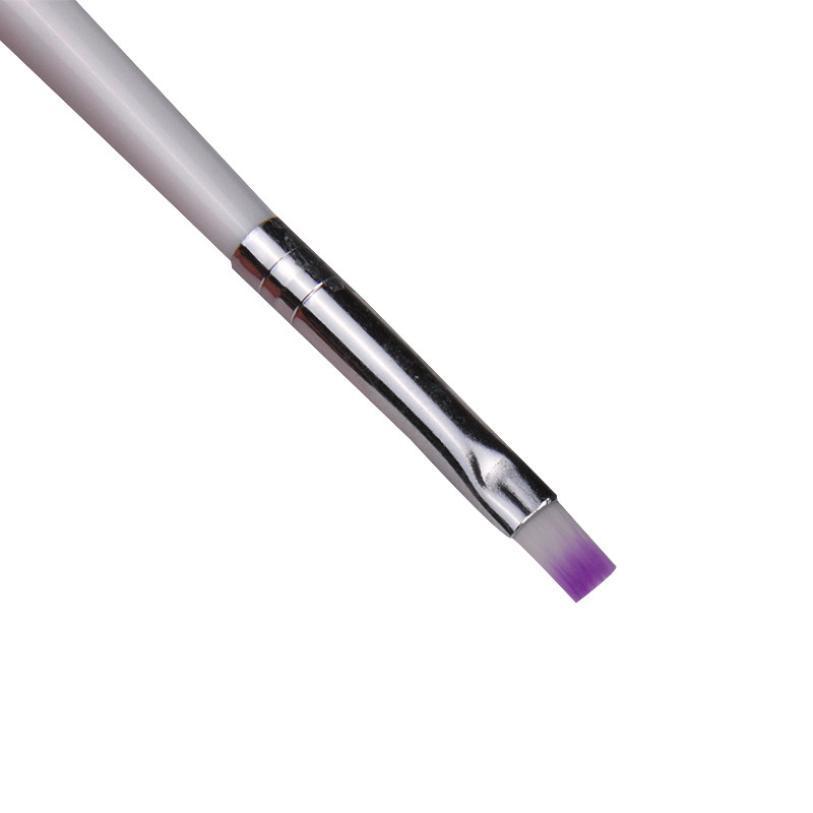 2PCS Acrylic Design 3D Painting Drawing UV Gel DIY Brush Pen Tool Nail Art Set Tool X6285Down
