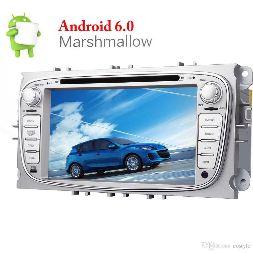 Android Quad Core 7'' Car Stereo Touch Screen Double Din GPS CAR DVD Player for Ford Focus In Dash Navigation Headunit Radio/Bluetooth