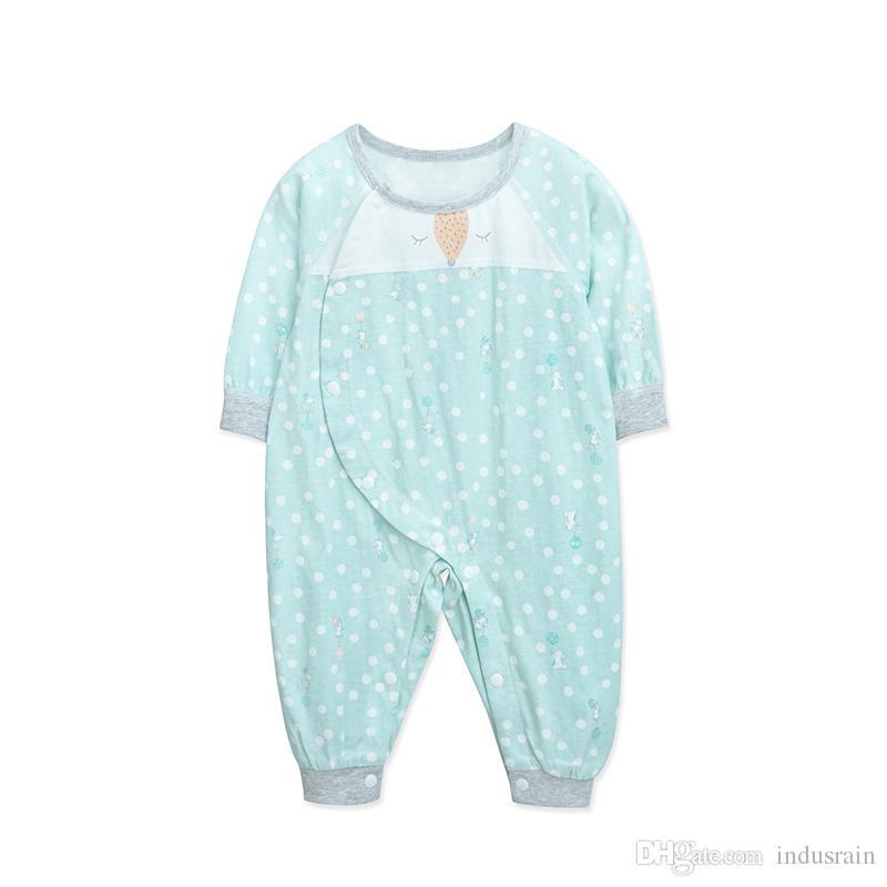YINGZIFANG Baby Pagliaccetti 2018 Moda carino neonato Abbigliamento Primavera morbida manica lunga pagliaccetti cotone infantile Tuta