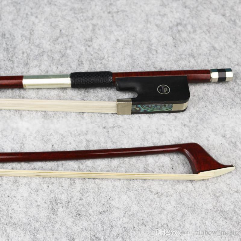 Высокое качество новый 4/4 размер углеродного волокна виолончели лук Pernambuco кожи, большой производительности виолончели частей аксессуары