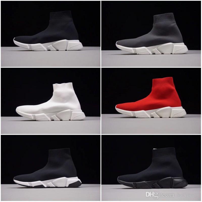 مع صندوق 2018 سبيد سوك عالية الجودة حذاء الجري سبيد تراينر للرجال والنساء أحذية رياضية سبيد تمتد متماسكة منتصف أحذية رياضية Eur36-45