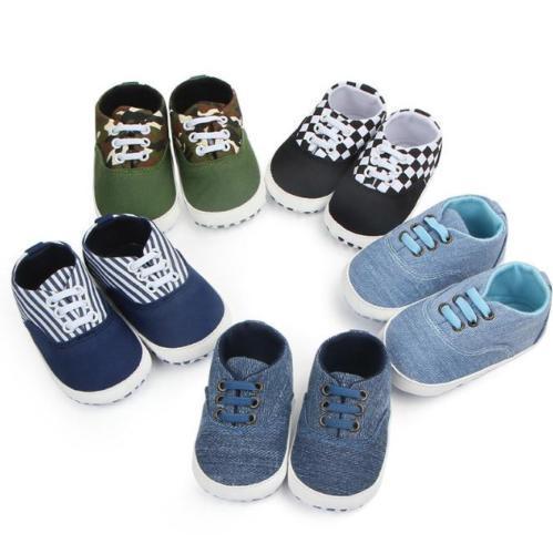 أحذية الأطفال حديثي الولادة لينة وحيد سرير أحذية الرضع بوي فتاة حذاء طفل مكافحة زلة لينة قماش أحذية