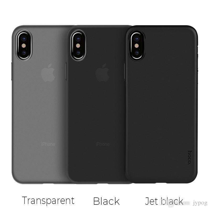 Hoco für Iphone XS XRCase hohe Reinheit 0.4mm starke TPU abschleifende Behandlung-Kamera Ring-Erhöhung und Anti-wear für Iphone XS MAX