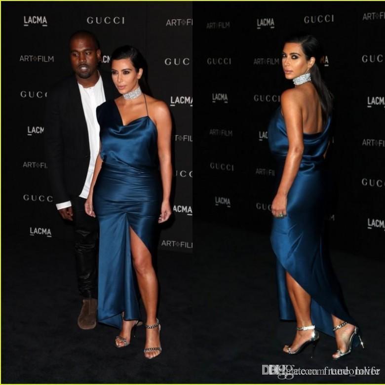 Vestido De Festa Sexy Celebridade Do Tapete Vermelho Vestido Cma Kim Kardashian Um Ombro Bainha Vestidos De Noite Formal Cocktail Dress Mulheres