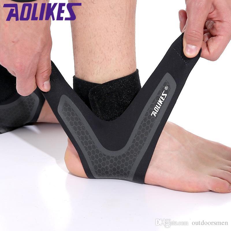 Ayak bileği koruyucu ışık ve basınç açık spor ayak bileği koruma kemeri tek sol ve sağ Açık spor koruyucu giysiler