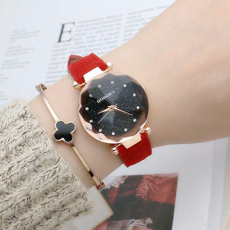 2018 vendita calda globale tendenza della moda casual orologio da donna moda stella orologio al quarzo ragazza tavolo spedizione gratuita