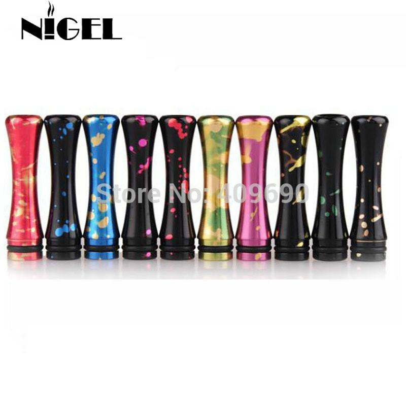 Nigel Fashion Spot Patterned Drip Tip Inhaler 510 Mouthpeice for EGo Electronic Cigarette Kits Atomizer